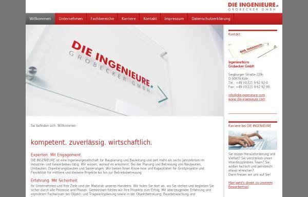 Vorschau von die-ingenieure.com, Grobecker GmbH