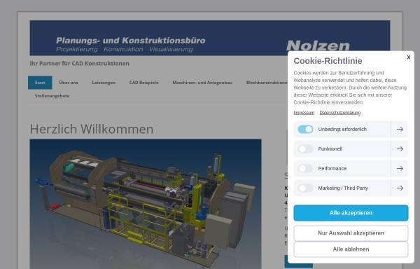 Vorschau von nolzen-3d.de, Nolzen 3D-CAD Planungs- und Konstruktionsbüro, Inh. Michael Nolzen