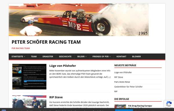 Vorschau von www.p-s-r.com, Peter Schöfer Racing