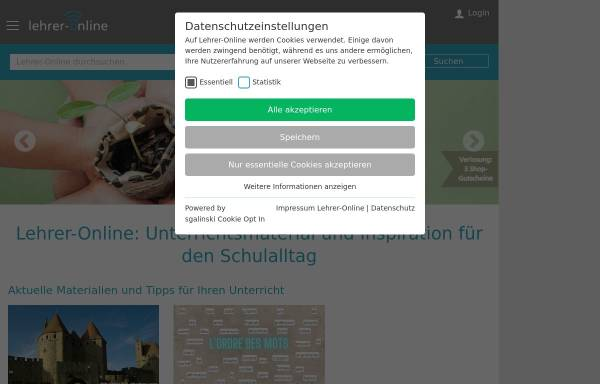 Vorschau von www.lehrer-online.de, Lehrer-Online