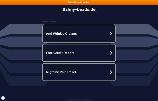 Vorschau von www.balmy-beads.de, Balmy Beads