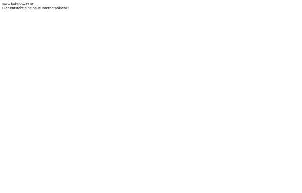 Vorschau von www.buksnowitz.at, Dr. Michael Buksnowitz
