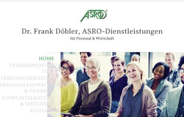 Vorschau von www.asrod.de, ASRO - Dr. Frank Döbler