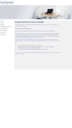 Vorschau der mobilen Webseite www.senkowski.biz, Brigitte Senkowski