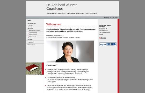 Vorschau von www.coachnet-muenchen.de, Coach.net GmbH