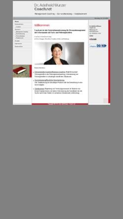 Vorschau der mobilen Webseite www.coachnet-muenchen.de, Coach.net GmbH