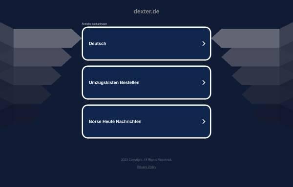 Vorschau von www.dexter.de, Dexter GmbH & Co KG