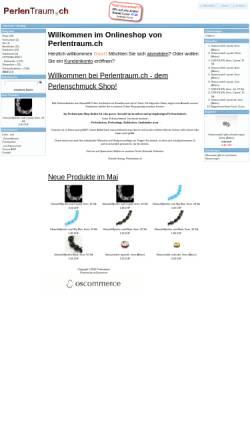 Vorschau der mobilen Webseite www.perlentraum.ch, Perlentraum.ch