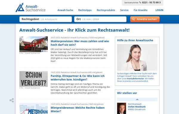 Vorschau von www.anwalt-consulting.de, Anwalt-Consulting Unternehmensberatung für Anwälte