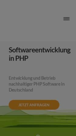 Vorschau der mobilen Webseite www.vistanova.de, Vista Nova - Büro für neue Medien, Inh. Peter Schapler