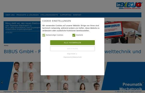 Vorschau von www.bibus.de, Bibus GmbH