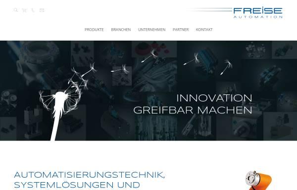 Vorschau von www.freise-automation.de, Freise GmbH Automation