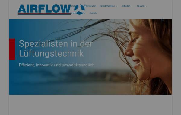 Vorschau von www.airflow.de, Airflow Lufttechnik GmbH