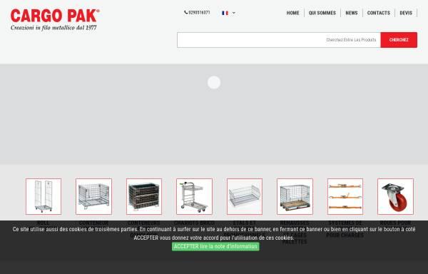 Vorschau von www.cargopak.ch, Cargo Pak s.n.c.
