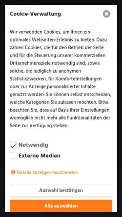 Vorschau der mobilen Webseite www.mafi.eu, Mafi Transport-Systeme GmbH