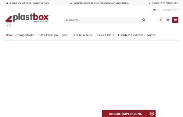 Vorschau von www.plastbox.de, Plastbox GmbH
