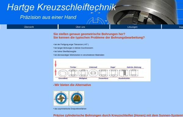 Vorschau von www.hartge-kreuzschleiftechnik.de, Hartge-Kreuzschleiftechnik, Inh. Steffen Kupke