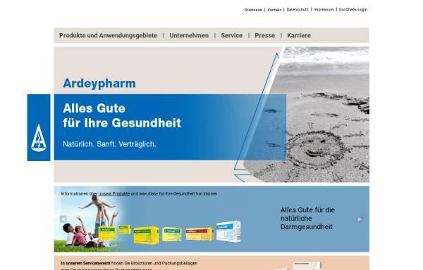 Vorschau von www.ardeypharm.de, Ardeypharm GmbH