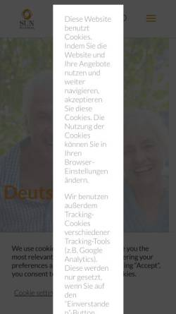 Vorschau der mobilen Webseite www.basics.de, Basics GmbH