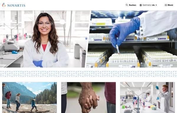 Vorschau von www.novartis.de, Novartis Pharma Deutschland GmbH