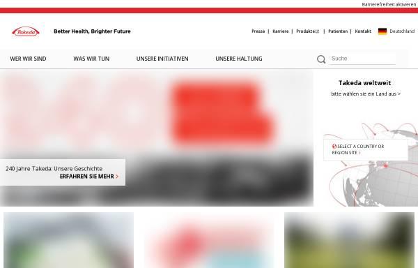 Vorschau von www.takeda.de, Takeda Pharma Vertrieb GmbH & Co. KG