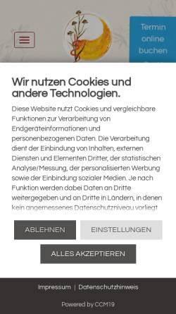 Vorschau der mobilen Webseite www.dr-tetzlaff.de, Dr. med. Alexandra Tetzlaff