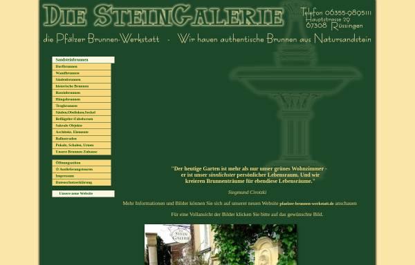 Vorschau von www.stein-galerie.de, Die Steingalerie, Inh. Ricarda Cirotzki