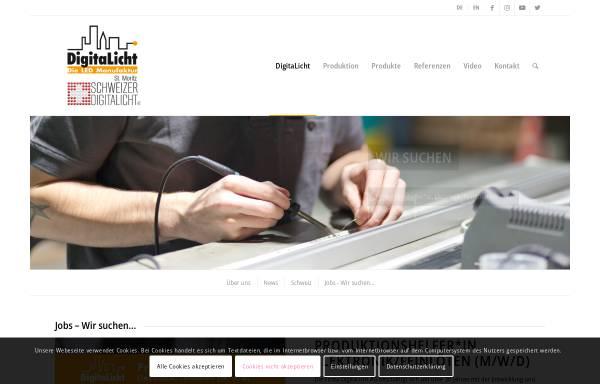 Vorschau von www.digitalicht.de, DigitaLicht AG