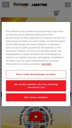Vorschau der mobilen Webseite www.khslight.de, K. H. Steuernagel Lichttechnik GmbH