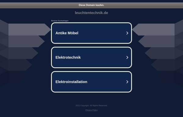 Vorschau von www.leuchtentechnik.de, Leuchtentechnik Georg Hofmann