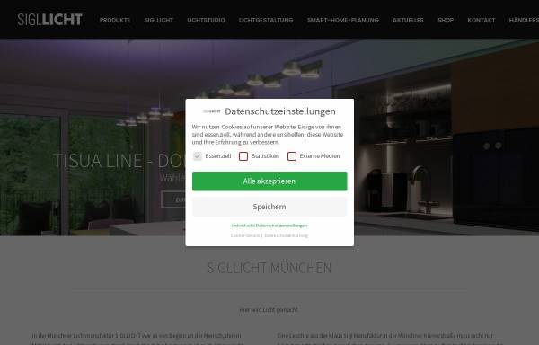 Beleuchtung München sigl licht gmbh münchen beleuchtung elektrotechnik sigllicht de