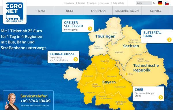 Vorschau von egronet.de, Egronet
