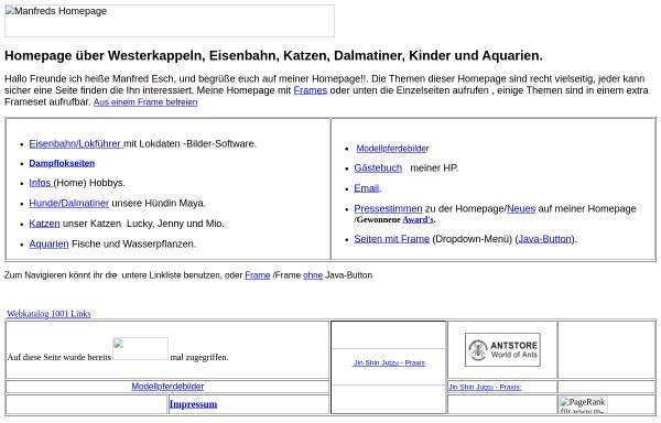 Vorschau von www.manfred-esch.de, Esch, Manfred