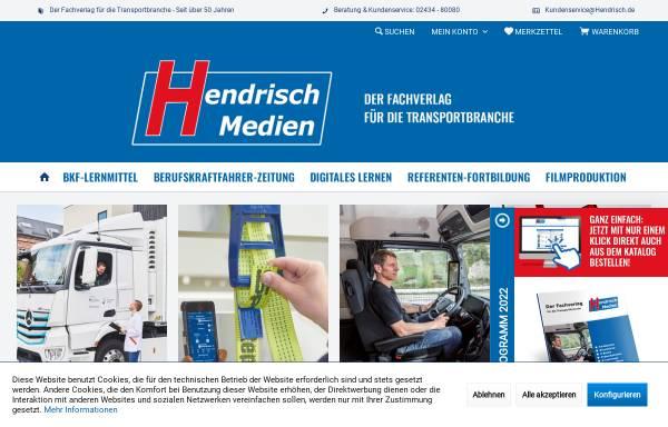 Vorschau von www.ladungssicherung.de, Verlag Günter Hendrisch GmbH & Co. KG