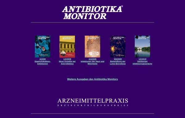 Vorschau von www.antibiotikamonitor.at, Antibiotika Monitor