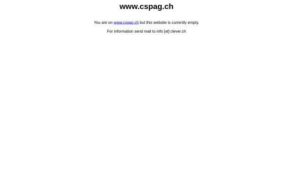 Vorschau von www.cspag.ch, CSP - TheThin-Client Company.