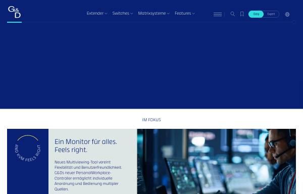 Vorschau von www.gdsys.de, Guntermann & Drunck GmbH Systementwicklung