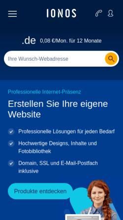 Vorschau der mobilen Webseite www.feierredner.de, Interessengemeinschaft freier Bestattungs- und Feierredner