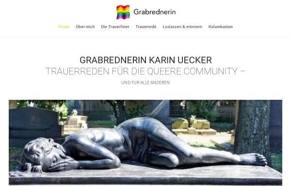 Vorschau von www.grabrednerin.de, Karin Uecker