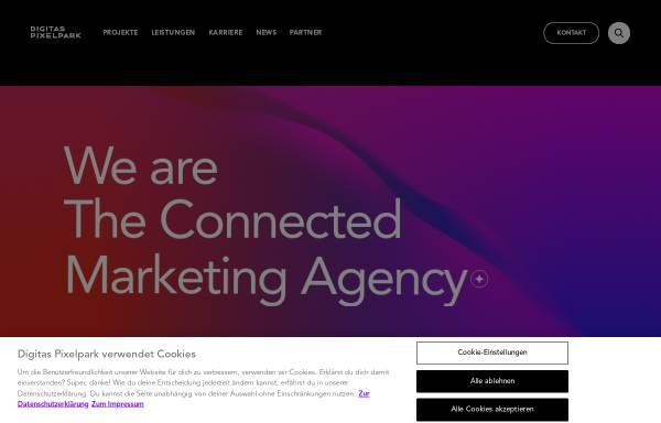 Vorschau von www.digitaspixelpark.com, Publicis Pixelpark Deutschland