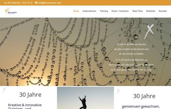 Vorschau von www.tourextrem.de, Tour Extrem Training & Event GmbH