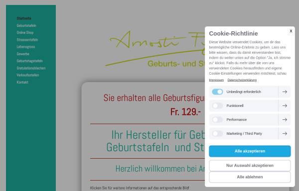 Vorschau von www.arnosti-figuren.ch, Arnosti-Figuren GmbH