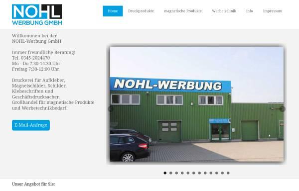 Vorschau von www.nohlwerbung.de, Nohlwerbung
