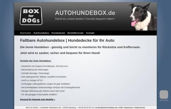 Vorschau von www.autohundebox.de, Box for Dogs, Alexander Pump