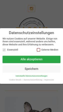 Vorschau der mobilen Webseite www.cool-dog.de, Cool-dog, Tetwin Mahlberg & Silke Schneider