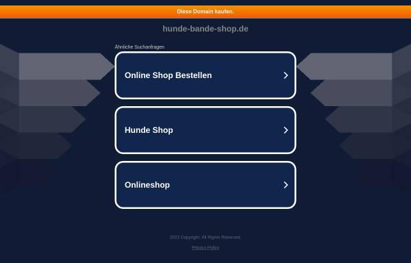 Vorschau von www.hunde-bande-shop.de, Hundebande, Susanne Heiden