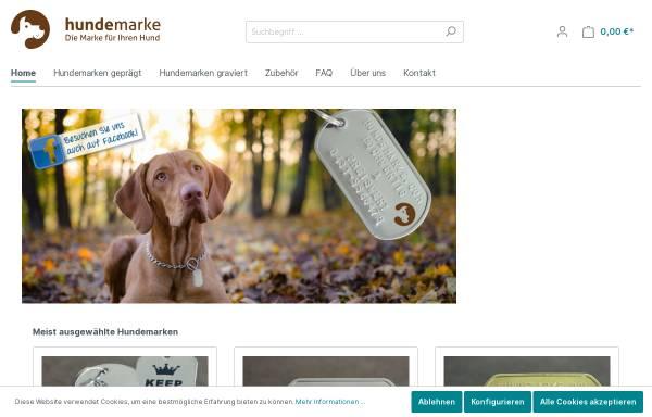 Vorschau von www.hundemarke.com, Hundemarke