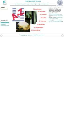 Vorschau der mobilen Webseite www.geoinformatik.uni-rostock.de, Geoinformatik-Service der Universität Rostock