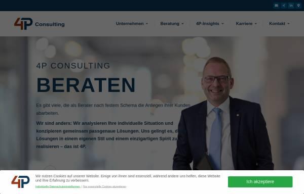 Vorschau von www.4p-consulting.de, 4P Consulting GmbH