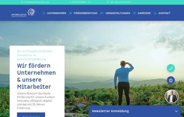 Vorschau von spitzmueller.de, Spitzmüller AG